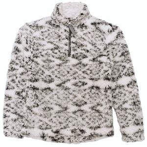 Other - Kids Charcoal Fuzzy Sherpa Pullover ☃️
